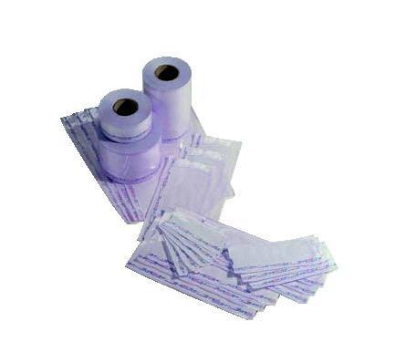7cff87100 Bolsas para esterilización mixtas rollo sin fuelle