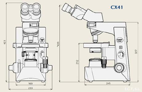 Microscopio binocular biolgico CX31 OLYMPUS